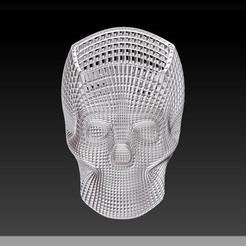 skullinsta11.jpg Télécharger fichier STL Skull study 1 • Design pour imprimante 3D, plasmeo3d