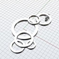 Plan 3D Cercles, plasmeo3d