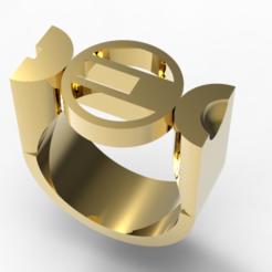 Télécharger objet 3D Bague Bauhaus, plasmeo3d