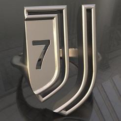 stl Ring J7, plasmeo3d