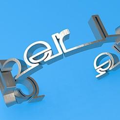 Imprimir en 3D pulsera de amor cibernético, plasmeo3d