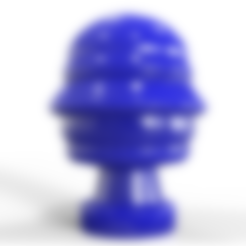 Download STL file Futuristic bust of Silvio Berlusconi • 3D printing object, plasmeo3d