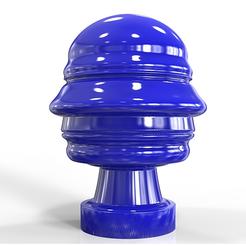 modèle 3d Buste futuriste de Silvio Berlusconi, plasmeo3d