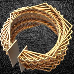 Archivos 3D pulsera Penragone, plasmeo3d