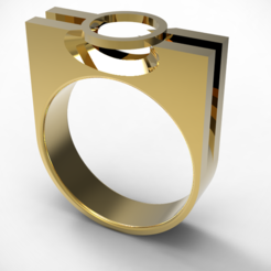 Télécharger fichier 3D Bague Prong, plasmeo3d