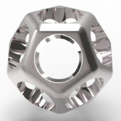 Télécharger modèle 3D Chevalière dodécahèdre, plasmeo3d
