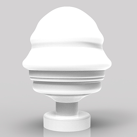 Download STL file Futuristic bust of Vladimir Putin • 3D printable template, plasmeo3d