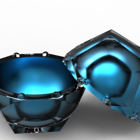 5th-element-ringbox.PNG Download OBJ file Dodecahedron case • 3D print model, plasmeo3d