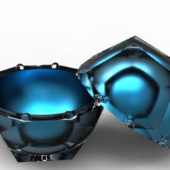 Modelos 3D caso dodecaedro, plasmeo3d