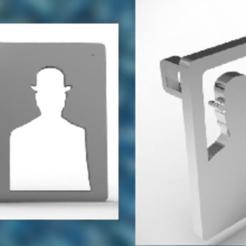 Archivos 3D Colgante Magritte 1, plasmeo3d
