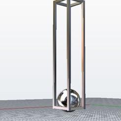 Fichier impression 3D Cage boule, plasmeo3d