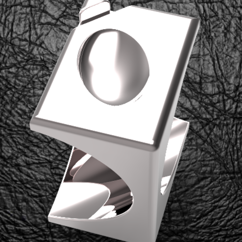 cube-ovoide-ring2.PNG Download STL file Signature Cube Ovoid • 3D printer design, plasmeo3d