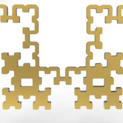 Descargar modelos 3D colgante fractal, plasmeo3d