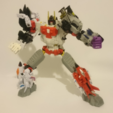 Free 3D model Transformers COMBINER WARS Defensor Foot, sickofyou
