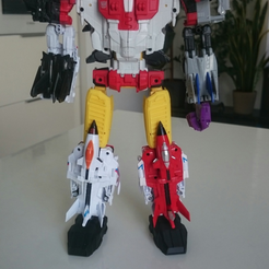 Download free 3D printing files TRANSFORMERS G1 CW Superion Thigs, sickofyou