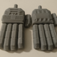 Free 3D printer files TRANSFORMERS CW POSABLE HANDS 2.0, sickofyou