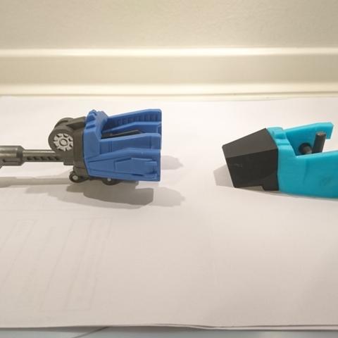 Descargar modelos 3D gratis WARBOTRON / MACHINE BOY Whirlwind aka Vortex Sección de la nariz, sickofyou