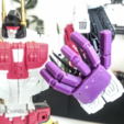Free 3D printer file Transformers COMBINER WARS Posable Hands, sickofyou