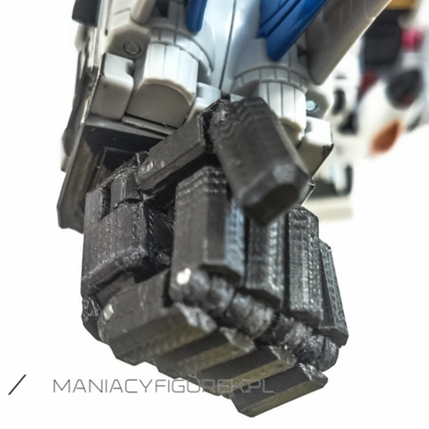 Download free STL file Transformers COMBINER WARS Posable Hands • 3D printer design, sickofyou