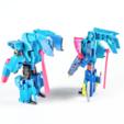 Download free 3D print files WARBOTRON/MACHINE BOY VORTEX to IDW ROTORSTORM kit, sickofyou
