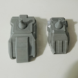 Free 3D printer designs Transformers COMBINER WARS Bruticus and Menasor Feet, sickofyou