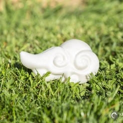 Clouds_005.jpg Download STL file Asian Cloud n°5 • 3D printing template, LeKid