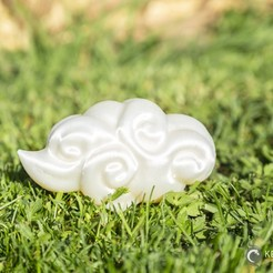 Clouds_007.jpg Download STL file Asian Cloud n°7 • Template to 3D print, LeKid