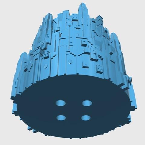 Descargar archivos 3D gratis MinasTirith pencil case, SageJeong