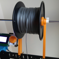 Download free 3D printer model Spooler Prusa i3 hephestos, makitpro