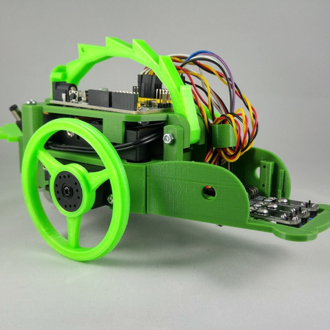 Download free 3D printing designs Arduino open-source robot: Humbot Sargantana, makitpro
