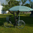 Download free STL file Beach umbrella holder for your bike • 3D printable object, makitpro
