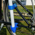 Free 3D print files Beach umbrella holder for your bike, makitpro