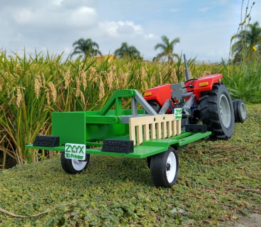 Capture d'écran 2016-12-20 à 12.34.20.png Download free STL file OpenRC Tractor trailer • 3D print design, makitpro