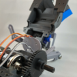 Free 3D printer designs OpenRC Tractor motor mod, makitpro