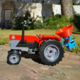 Free 3d print files OpenRC Tractor fertilizer, makitpro