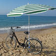 Download free 3D model Beach umbrella holder for your bike, makitpro