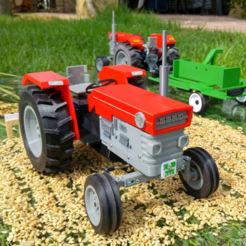 Download free 3D printer model OpenRC Tractor, makitpro