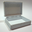 Download free 3D printing files  Flower box (with ring holder insert), FrankLumien
