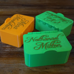 Archivos 3D gratis Cajas de regalo / juguetes - diferentes tapas disponibles, FrankLumien