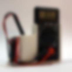 multimeter_pegboard_holder-B.stl Download free STL file Multimeter holder (pegboard or wall mounted) • 3D print model, FrankLumien