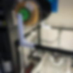 Download free STL files RigidBot Filament Spool Holder, FrankLumien
