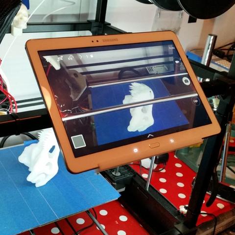Download free 3D printer templates  RigidBot Phone & Tablet Mount (Universal), FrankLumien