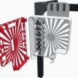 Download free STL RigidBot controller board (RigidBoard) side mount housing, FrankLumien