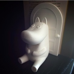 Download free 3D printer designs Moomin bookend, FrankLumien
