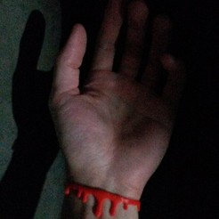 3d printer model Blood Bracelet, wwwell