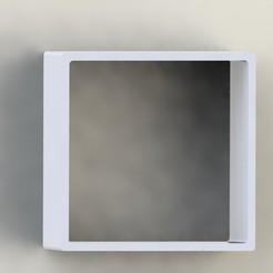 Free STL file The cube (wall storage cube), ZimArthur