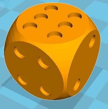 Dé de jeux.jpg Download free STL file Didier95 • 3D printable model, DidierLeclerc