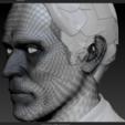 Download OBJ file Willem Dafoe Bust • 3D print object, Slrange