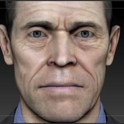 3D printer models Willem Dafoe Bust, Slrange