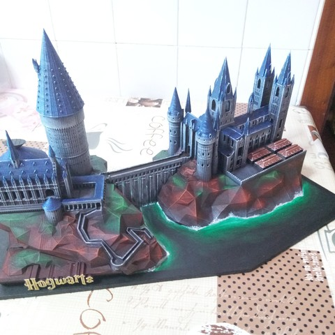 Download free 3D printer templates Hogwarts School of Witchcraft, mgg_1
